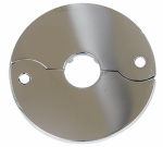 Larsen Supply 03-1551 Chrome Plated,Floor & Ceiling,Split Flange,Fits 3/8-Inch Iron Pipe Or 1/2-Inch Inside Diameter Copper,Carded