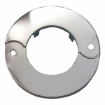 Larsen Supply 03-1561 Chrome Plated,Floor & Ceiling,Split Flange,Fits 1-1/2-Inch Iron Pipe,Carded