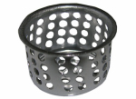 Larsen Supply 03-1313 Crumb Cup Strainer, Chrome Plated, 1-In.