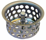 Larsen Supply 03-1317 Chrome Plated,Crumb Cup Strainer, 1-1/2-Inch,With Lift post,Carded