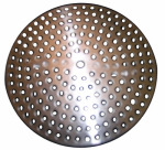 Larsen Supply 03-1349 Shower Strainer, Everbrite 3-1/8 Inch With Adjustable Tabs