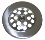 Larsen Supply 03-1361 Bathtub Shoe Drain Cover With Screw, Chrome Plated