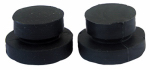 Larsen Supply 0-1027 Diaphragm Washer For American Standard Aqua Seal, Rubber, 2-Pk.
