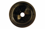 Larsen Supply 02-4011 Black Rubber,Garbage Disposal Splash Guard,Fits Most,Carded