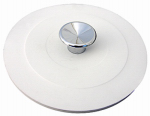 Larsen Supply 02-4013 White Rubber,Garbage Disposal Stopper,Fits Most,Carded