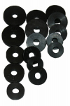 Larsen Supply 02-1123 Faucet Washer, Flat, Small Assortment
