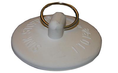 Lasco 02-3233 Bathtub Drain Stopper, Rubber - Quantity 6