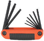 Eklind Tool 25919 Medium Hex Key Set. 9 SAE Sizes
