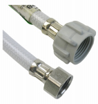 Larsen Supply 10-2817 1/2 Iron Pipe Size x 7/8 Ballcock x 16-Inch Flexible Poly Toilet Connector