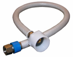 Larsen Supply 10-2609 3/8 Compression x 7/8 Ballcock x 9-Inch Flexible Poly Toilet Connector