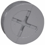 Hubbell Electrical Products PT-50-AL 3-Pack Gray Weatherproof 1/2-Inch Closure Plugs