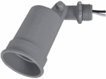 Hubbell Electrical Products LH150-2 Gray Weatherproof Porcelain Socket Lampholder