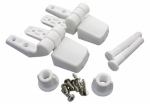 Larsen Supply 14-1039 2-Piece Replacement Toilet Seat Hinge