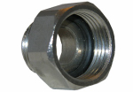 Larsen Supply 10-0051 1/2-Inch Iron Pipe Size Supply Line x Female Ballcock Thread Reducing Adapter