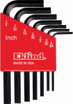 Eklind Tool 10107 7-Piece Hex-L Key Set