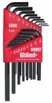 Eklind Tool 10018 18-Piece Combination Hex-L Key Set