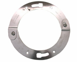 Larsen Supply Co 33-3736 Stainless Steel Adjustable Toilet Flange Ring