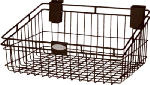 Suncast MB1218B 12 x 18-Inch Black Wire Basket