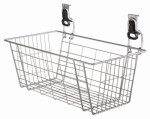 Rubbermaid 1784453 24-Inch Fast Track Wire Basket