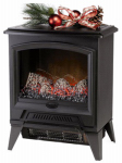 Dimplex North America CS-12056A Electric Fireplace Stove, Black, 17.4-In. Width