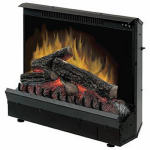 Dimplex North America DFI23096A Electric Fireplace Insert, 23-In. Firebox, 1375-Watts, 4695-BTU.