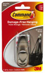 3M FC12-BN Medium Brushed Nickel Command Metal Hook