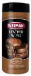 Weiman 47 30CT Leather Wipes
