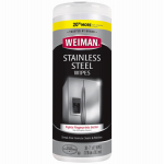 Weiman Products 92 Stainless Steel Wipes, 30-Ct.