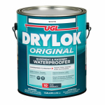 United Gilsonite Lab 27513 Latex Masonry Waterproofing Paint, White, 1-Gal.