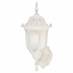 Westinghouse Lighting 66828 100-Watt White Powder Coated Wall-Mount Lantern