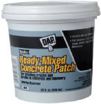 Dap 31090 Ready-Mixed Concrete/Mortar Patch, 1-Gallon
