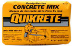 Quikrete Companies 110140 Concrete Mix, 40-Lbs.