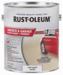 Rust-Oleum 225381 Concrete Floor Paint, Tint Base, 1-Gal.