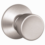 Schlage Lock F10VBEL626 Satin Chrome Bell Passage Knob