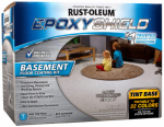 Rust-Oleum 225446 Epoxy Shield Floor Coating Kit, Tint Base, 1-Gal., Must Purchase in Quantities of 2