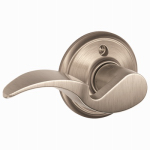 Schlage Lock F170VAVA619RH Satin Nickel Avanti Right-Hand Single Dummy Lever