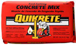 Quikrete 44152-RDC07 50LB Fast Set Concrete Mix