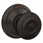 Schlage Lock F40VGEO716 Bronze Georgian Privacy Knob