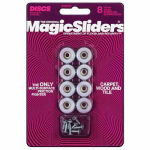 Magic Sliders L P 08200 Surface Protectors, Furniture Sliding Discs, Screw-On, 3/4-In. Round, 8-Pk.