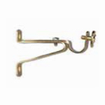 Kenney Mfg KNL842/3 Cafe Rod Bracket, Brass, 9/16-In., One Pair