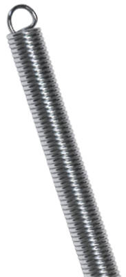 C-77 11/32-In. OD x 1-7/8-In.-Long Extension Spring, 2-Pack
