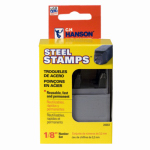 CH Hanson 20685 9PC 1/4'' Steel Stamp Set