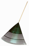 Ames Companies The 163123900 30-Inch Poly Lawn & Leaf Rake With 48-Inch Handle