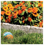 Suncast BSE10TG 12-In. Border Stone-Like Edging, 10-Pk.