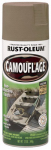 Rust-Oleum 1917-830 Camouflage Spray Paint, Khaki, 12-oz.