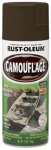 Rust-Oleum 1918-830 Camouflage Spray Paint, Earth Brown, 12-oz.