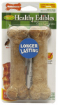 Nylabone Products NEB103TPP Bacon Bone, Wolf Size,  2-Pk.