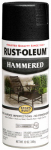 Rust-Oleum 7215-830 Stops Rust Spray Paint, Black Hammered, 12-oz.