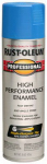 Rust-Oleum 7524-838 High-Performance Spray Enamel, Safety Blue, 15-oz.