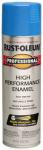 Rust-Oleum 7524-838 High-Performance Spray Enamel, Safety Blue, 15-oz.